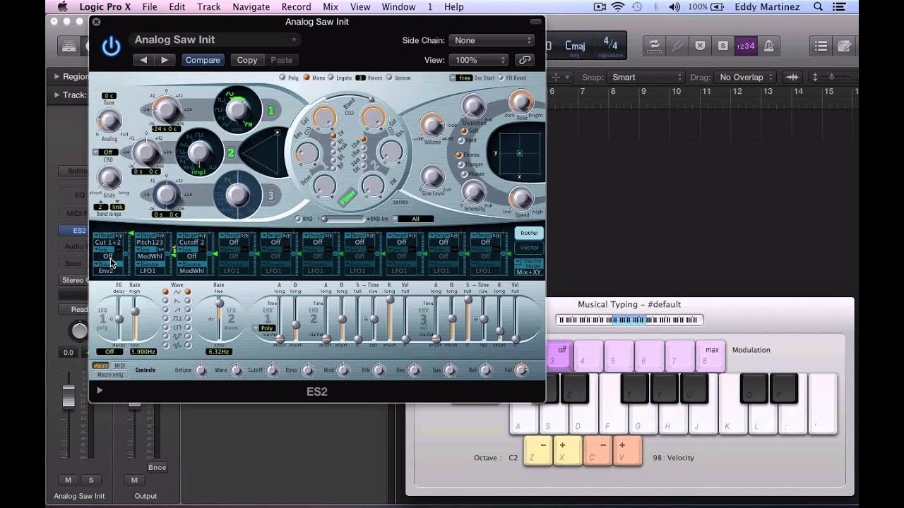 How To Make A Dubstep Wobble in LOGIC PRO X |
