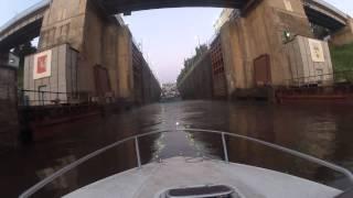 Переход по воде СПБ - Ладога - Онега - Белое озеро(Июнь 2013. Совершили 700 км марш по воде Санкт- Петербург - Белое озеро., 2013-07-11T16:04:05.000Z)