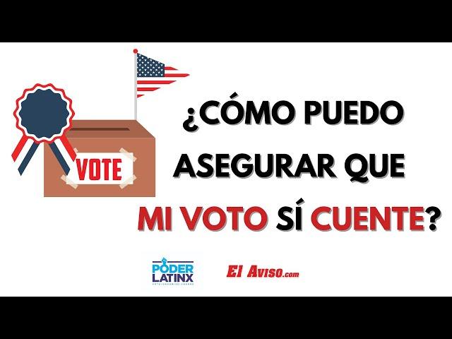 ¿Cómo puedo rastrear mi boleta electoral? -El Aviso Magazine