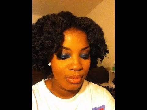 Crochet Braids Marley Hair Short Styles : Crochet Braids Using Marley Hair - YouTube