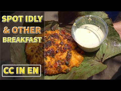 Breakfast in Hyderabad Episode 1   Restaurant + Bandi