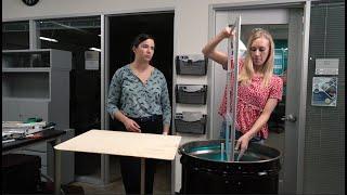 Rice students use UV-C light to decontaminate masks