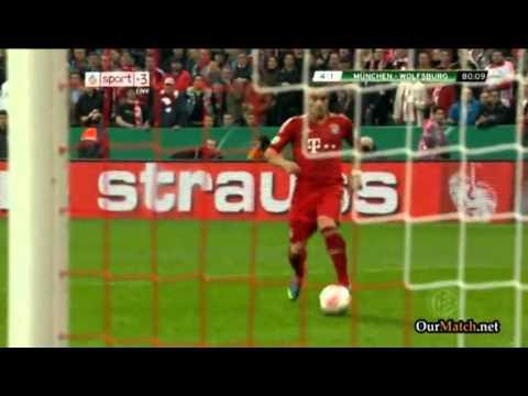 DFB Pokal - Bayern München vs VfL Wolfsburg 6 : 1 - (16.04.2013)
