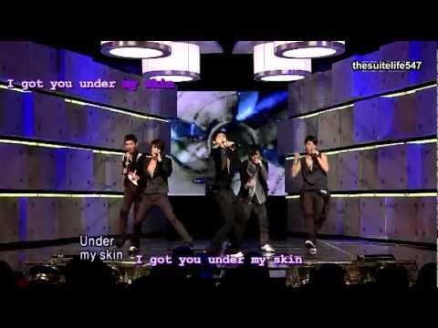 DBSK - Mirotic [Inkigayo] (08.09.28) {Hangul, Romanization, Eng Sub}