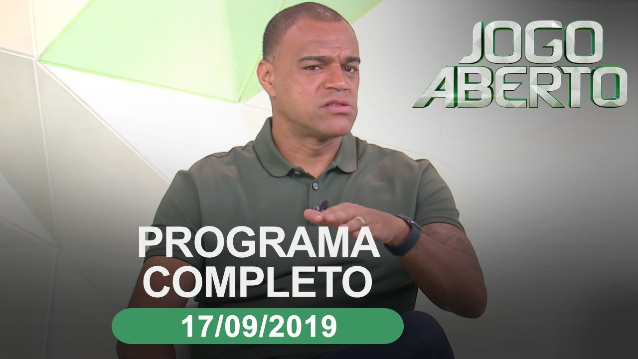 Jogo Aberto 17 09 2019 Programa Completo Youtube