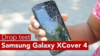 Samsung Galaxy XCover 4 drop test