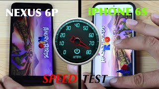Nexus 6P VS iPhone 6s SPEED TEST!
