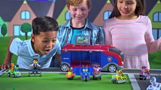 Машина автовоз Патрулевоз Щенячий Патруль и робопес Paw Patrol Mission Paw Mission Cruiser