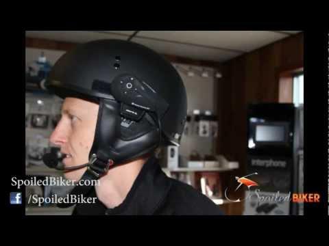 Interphone F5 Half Helmet Installation: How To Install The Interphone F5 Bluetooth Headset On Shorty