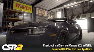 【CSR2】Camaro Z28, shift & tune for 12.186 (updated)