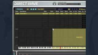 Directwave - Creating Zone