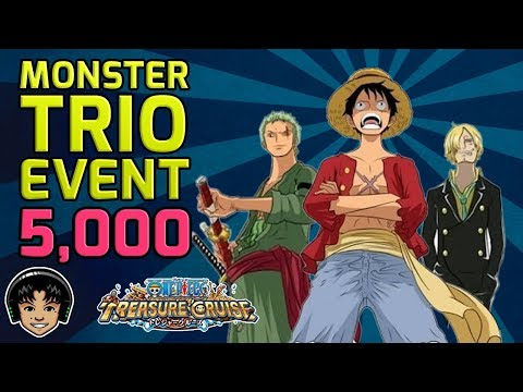 Walkthrough for Monstrous Trio, Luffy/Zoro/Sanji Event! [One Piece Treasure Cruise]