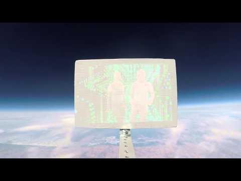 Space Balloon: Full Flight | Movie Projector in Near-Space