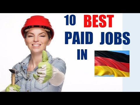 10 Best Paid Professions in Germany