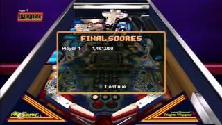 Williams Pinball Classics (video 4) (Playstation 3)