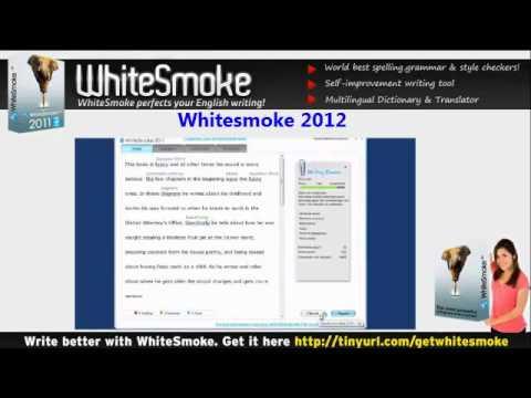 Whitesmoke 2012 - Powerful Grammar Checker