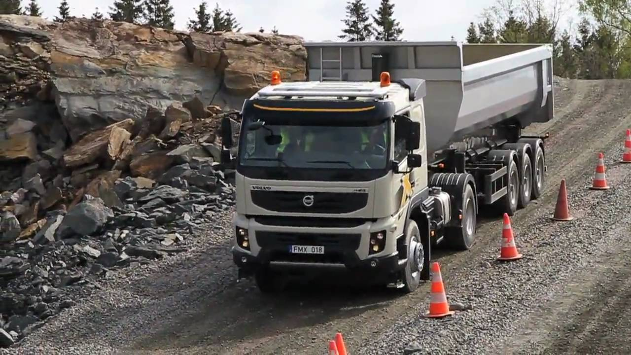 Volvo Trucks - Journalists test drive the new Volvo FMX. Check out their response - YouTube