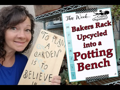 bakers-rack-up-cycled-into-a-potting-bench