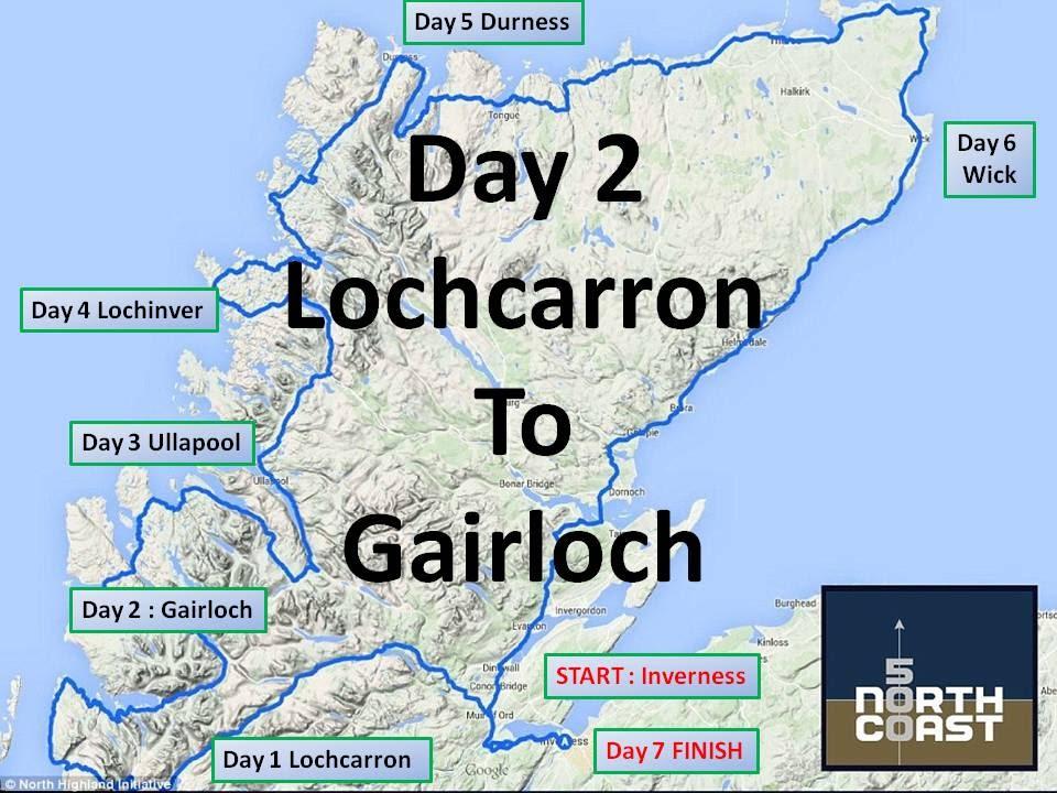 NC 500 North Coast 500 Day 2 30/03/16 : Day 13 Scottish Road Trip