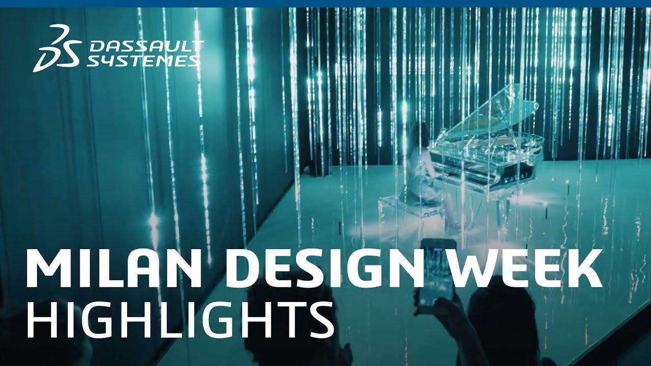 Best Stands Expo Milan : Milan design week highlights dassault systèmes youtube