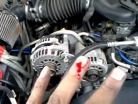 4 Wire Delco Alternator Wiring Diagram Dual Alternator Install D Youtube