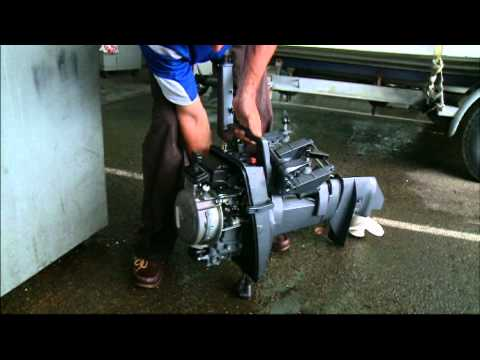 Drowned Outboard Motor - What to do
