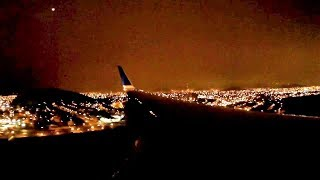 Landing in Lima United 757