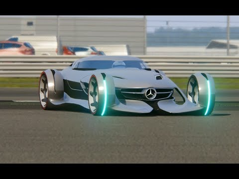 Mercedes-Benz Silver Arrow Concept Top Gear at Silverstone