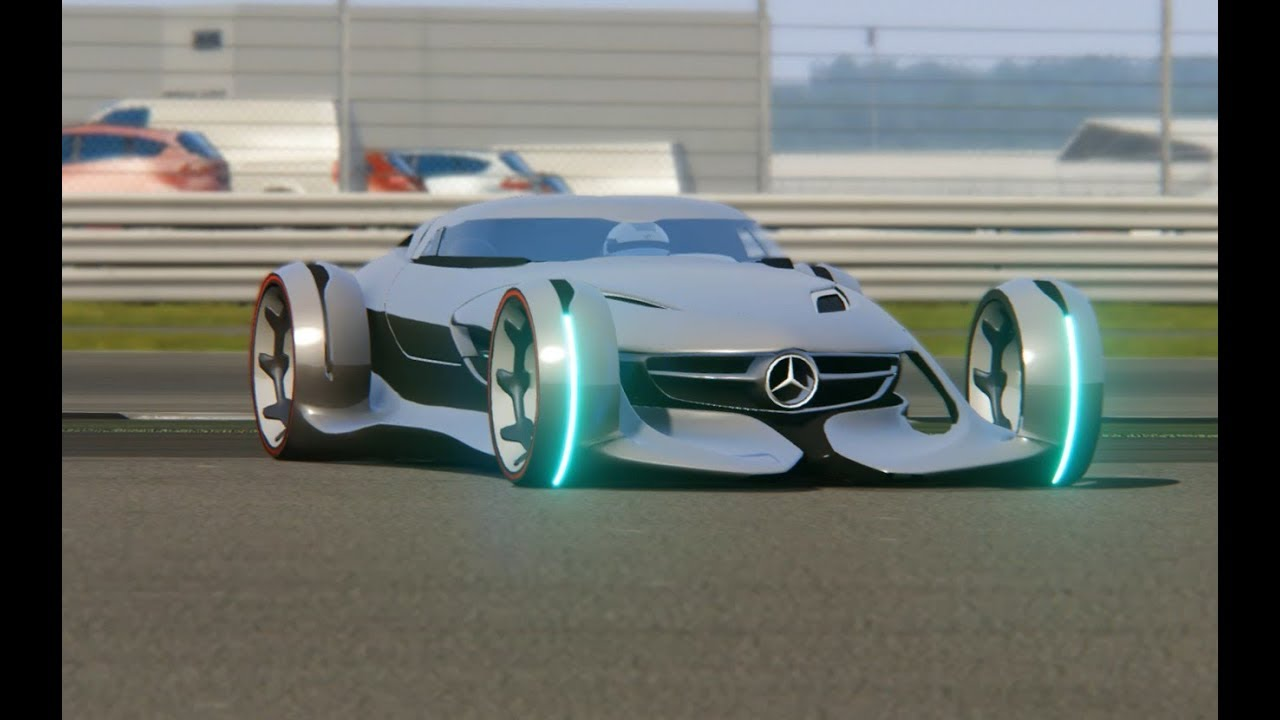 Mercedes-Benz Silver Arrow Concept Top Gear at Silverstone ...