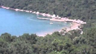 Descida para Praia de Laranjeiras de teleférico thumbnail