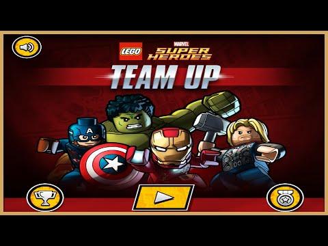 Lego Super Heroes Team Up | Best Kid Games | Hulk Iron Man Thor ...