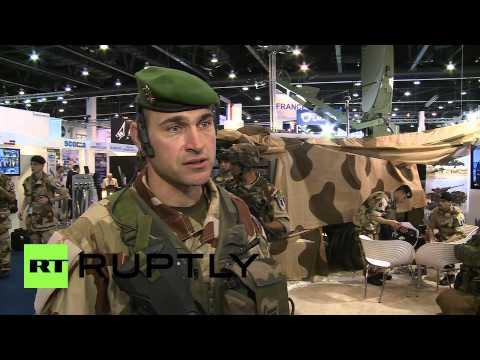 UAE: French troops show Mali battlefield tech