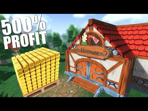 OPEN WORLD SHOPPE KEEP! SELLING EVERYTHING AT A 500% PROFIT?! - Shoppe Keep 2 Gameplay Part 1