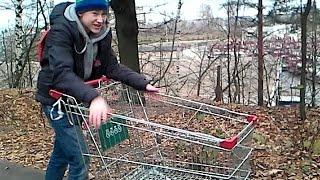 Тюнинг тележки из супермаркета часть 1(, 2015-11-08T19:06:12.000Z)