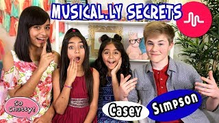 Casey Simpson Musically Secrets : So Chatty Talk Show // GEM Sisters