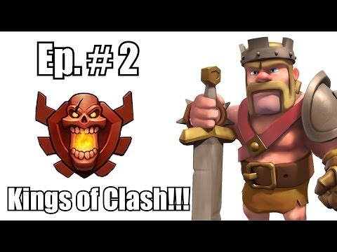 Clash of clans - Kings of clash ( Mega City currently ranked # 1 clan )