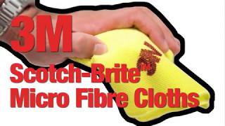 Discover the Benefits of Using 3M™ Scotch Brite™ Microfibre Cloths Over Conventional Cloths