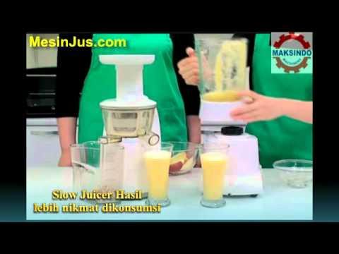 Slow Juicer Vs Blender : Menguji Efisiensi Mesin Jus Buah Slow Juicer vS Blender ...