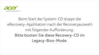 Windows 8 recovery Fehler
