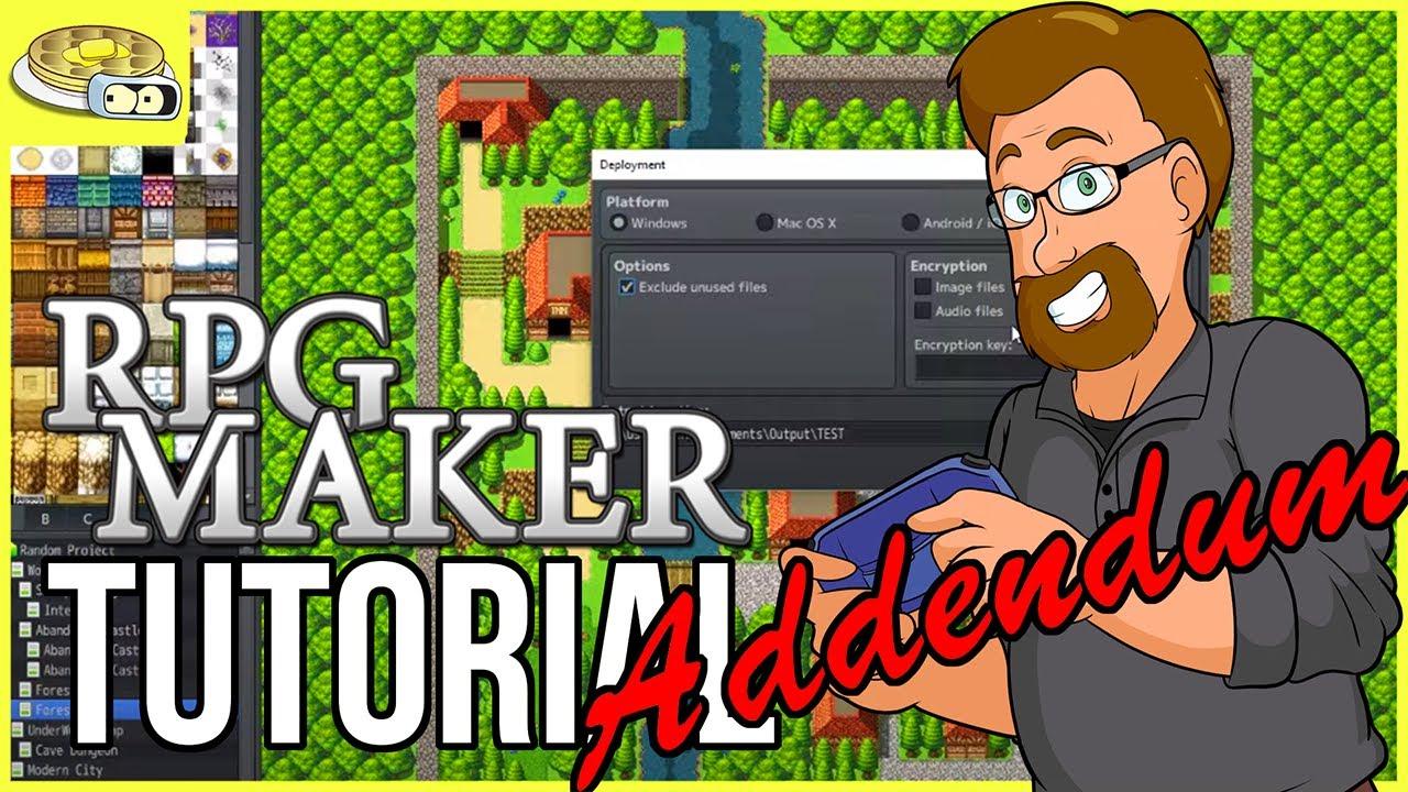 BenderWaffles Teaches: RPG Maker ADDENDUM #6 - Deployment