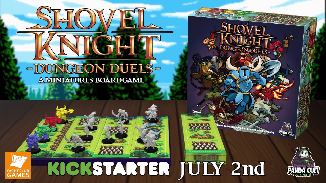 Shovel Knight Digs Up His Own Competitive Board Game On Kickstarter