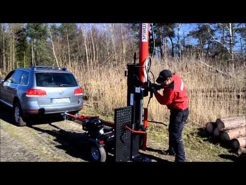 Produktvideo Stehend- Liegendspalter Holzspalter Oslo 26T & 32T