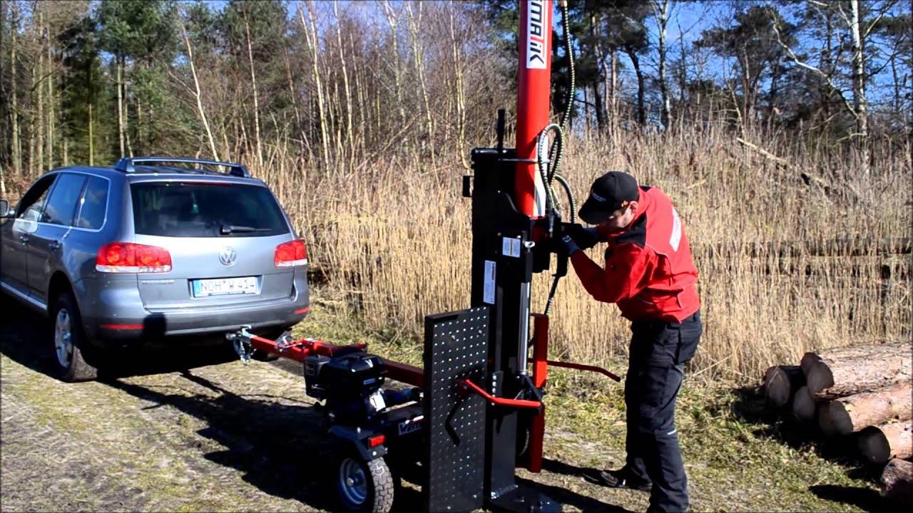 Ganz und zu Extrem Produktvideo Stehend- Liegendspalter Holzspalter Oslo 26T & 32T &NG_16