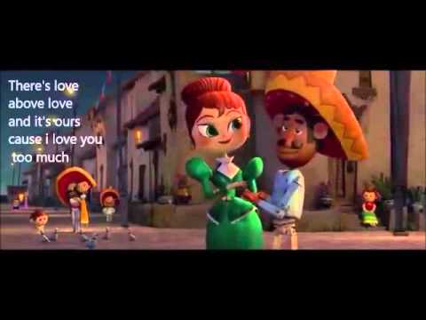 I Love You Too much LYRICS by The Book Of Life.