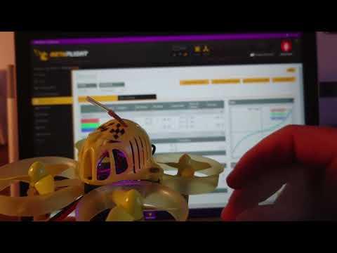 "QX65 Tiny Whoop Ultimate Tune Setup ""Project Mockingbird""  Banggood"