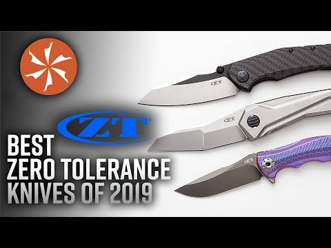 Best Zero Tolerance Knives Of 2019 Available At KnifeCenter.com