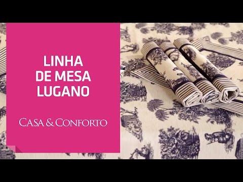 Linha de Mesa Lugano Casa & Conforto | Shoptime