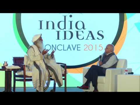 Sadhguru Jaggi Vasudev in conversation with Shri MJ Akbar