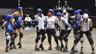 "Roller Derby Girls - Nashville RollerGirls: ""Heart-Takers&Ball-Breakers"""