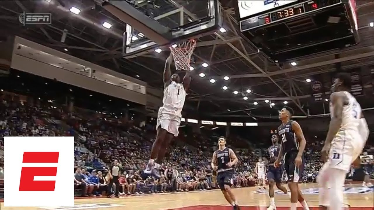 Zion Williamson & R.J. Barrett highlights Duke vs. Toronto: Barrett 35 pts, Zion 24 pts | ESPN